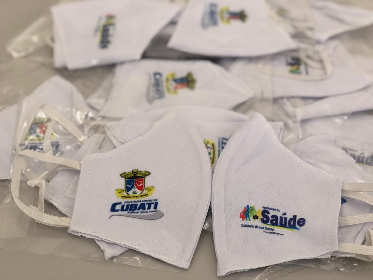Covid-19: Prefeitura inicia a distribuição de máscaras gratuitas para a população de Cubati