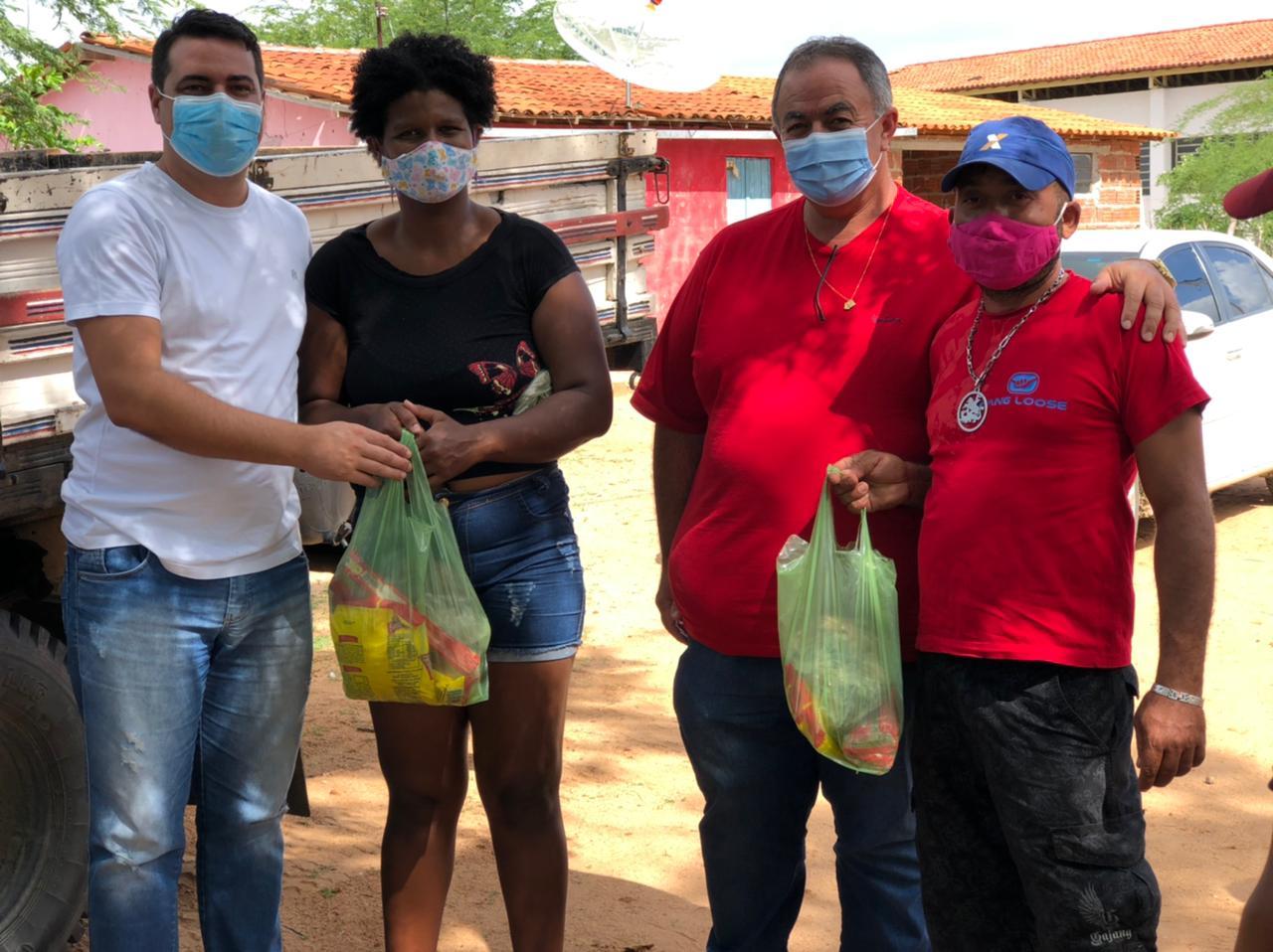 Prefeitura de Cubati distribui Kit Páscoa para famílias carentes do município