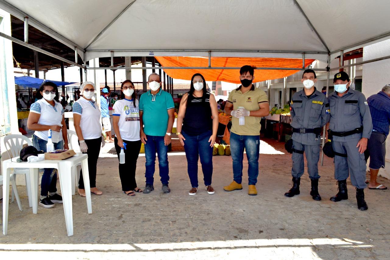 Secretaria Municipal de Saúde segue intensificando ações no combate à COVID-19 em Cubati