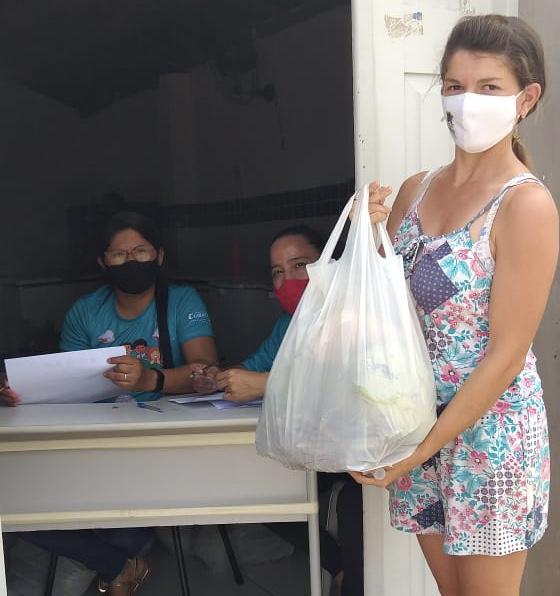 Prefeitura realiza a entrega de alimentos adquiridos pelo PAA à famílias carentes de Cubati