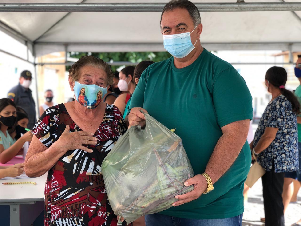 Gestão municipal entrega Kits da agricultura familiar em Cubati