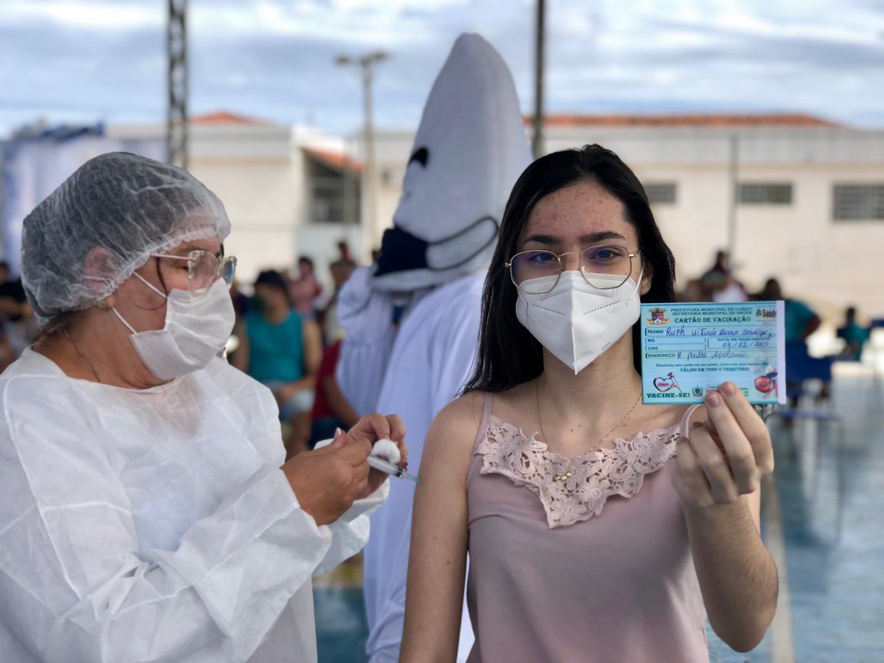 Secretaria de Saúde de Cubati realiza dia D da vacinação contra Influenza