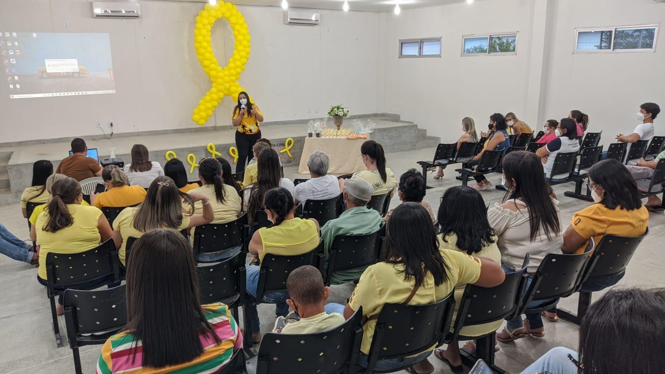 Secretaria de Saúde realiza evento em alusão ao Setembro Amarelo