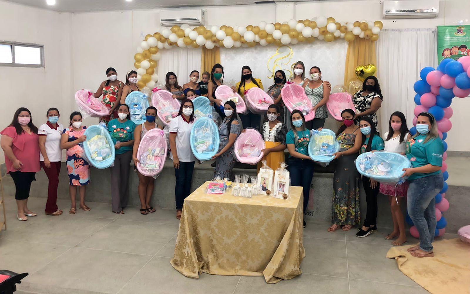 Secretaria de Assistência Social encerra ações do Agosto Dourado em Cubati