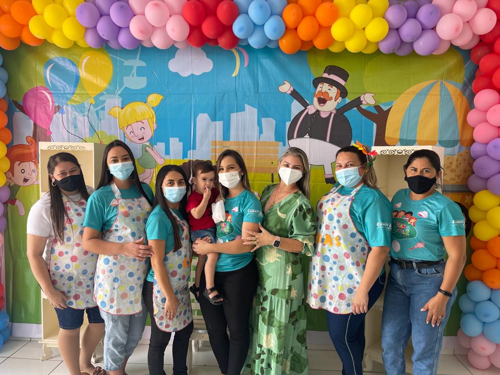 SMAS de Cubati realiza comemoração do Dia das Crianças